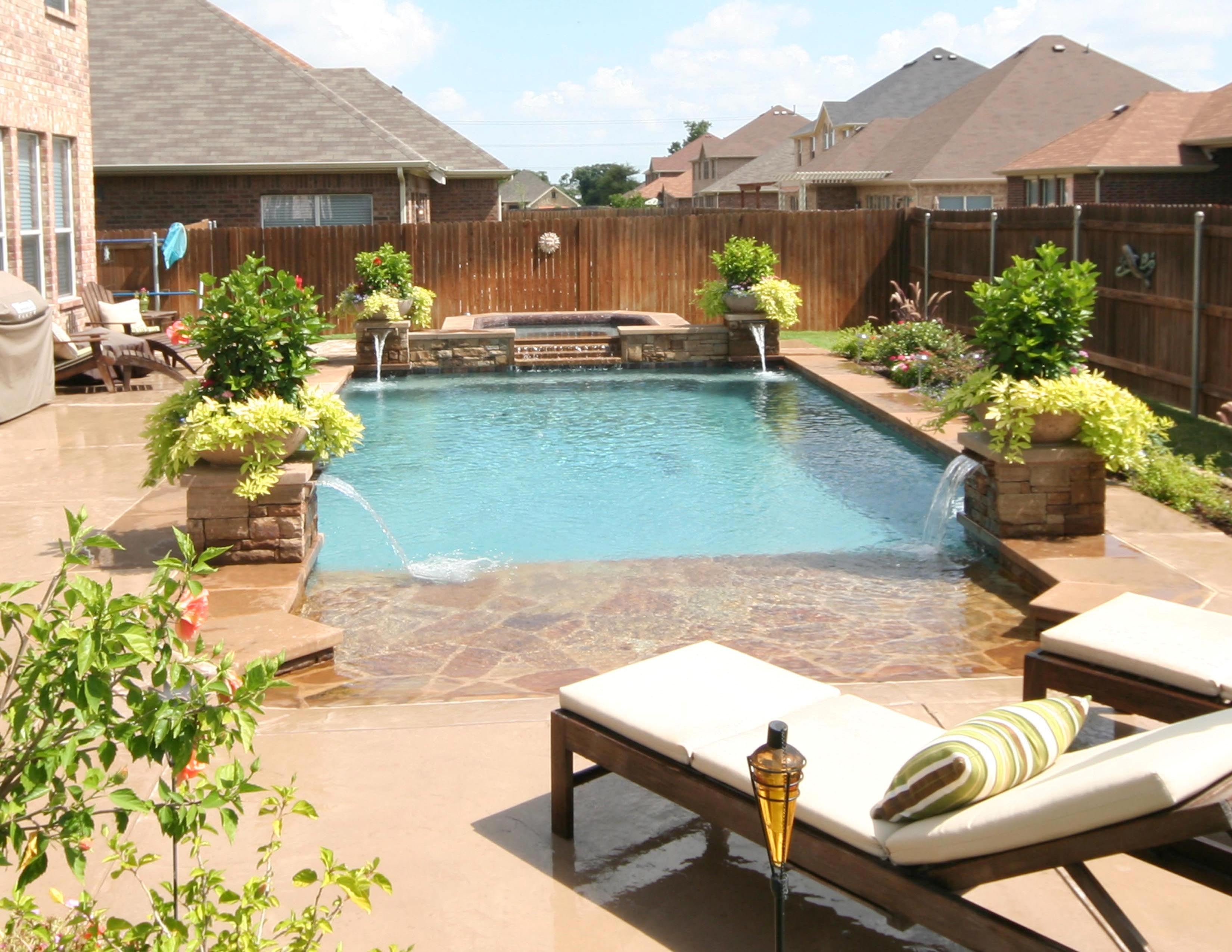 Pools Pool Designs And Photos On Pinterest