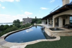 2017 Best of UAG Residential Concrete Freeform Pool Gerson