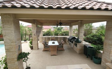 Ft Worth Outdoor Kitchens Keller Pergolas Covered Patios