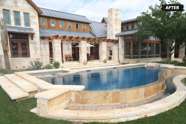 Keller custom pool builder ft worth weatherford for Swimming pool builders fort worth